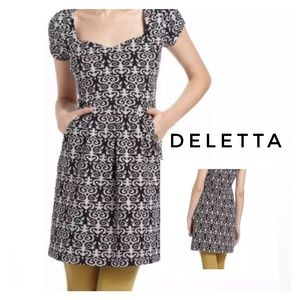 Deletta Anthropologie Caledonia Dress Size Small